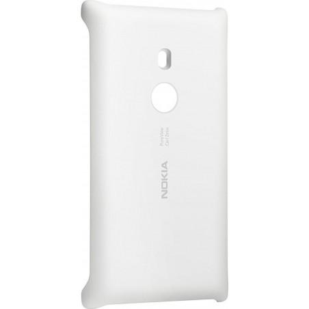 Custodia Rigida originale con Ricarica Wireless per Nokia Lumia 925, Bianco
