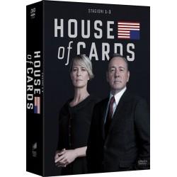 House of Cards - Cofanetto Stagioni 1, 2 e 3 (12 DVD)