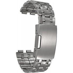 Pebble Watchband Cinturino in Acciaio inossidabile per Steel Smartwatch
