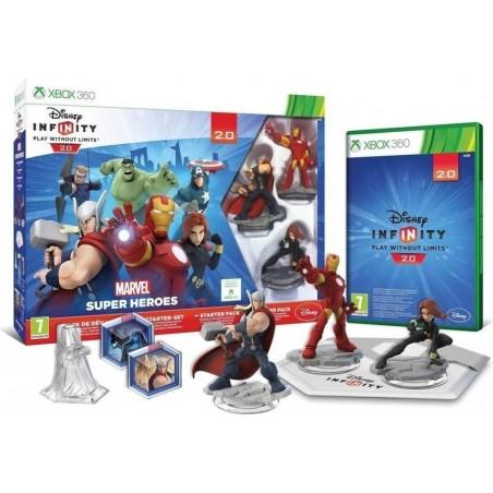 Disney Infinity 2.0: Marvel Super Heroes Starter Pack - XBOX 360