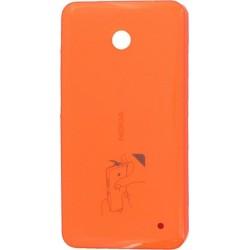 Custodia a guscio rigido Originale Nokia per Lumia 630/635, Arancione