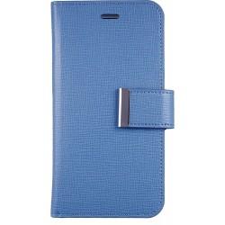 Custodia Anymode in Vera Pelle per iPhone 6, Azzurro