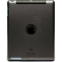 Muvit Custodia in Gel Effetto Lucido per iPad 2, Nero