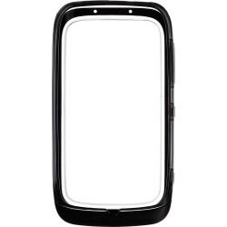 Custodia Morbida Protettiva in Plastica per Nokia Lumia 610, NERO