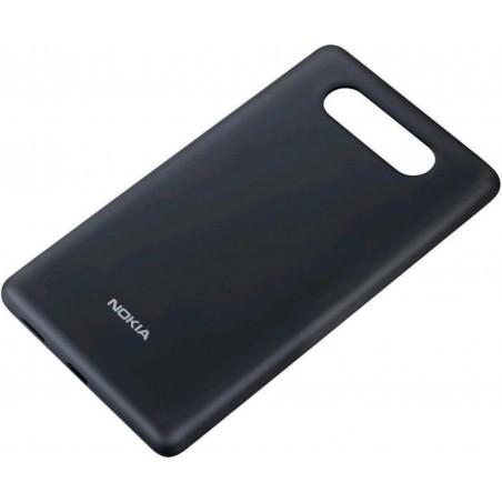 Custodia Rigida Nokia CC-3041 con ricarica Wireless per Lumia 820, Nero