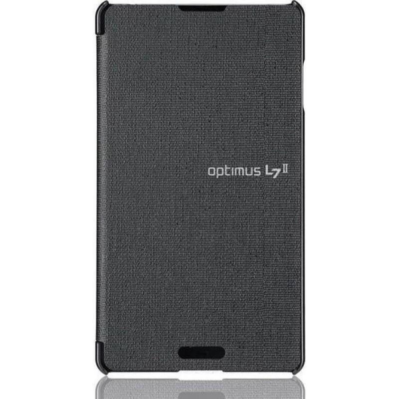 Custodia Flip Folio per LG Optimus L7 II, Grigio