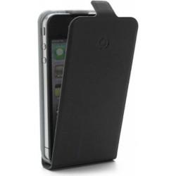 Celly Custodia con Flap Verticale per iPhone 5/5S, Nero