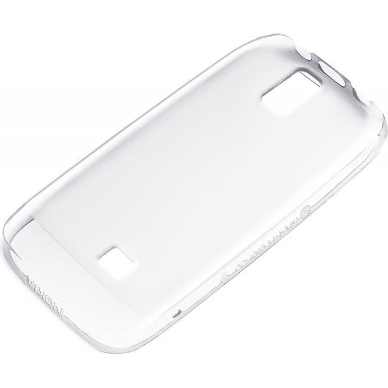Custodia Morbida in Plastica per Nokia Asha 308 e 309, Bianco