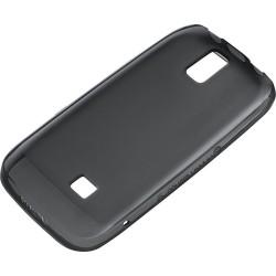 Custodia Morbida in Plastica per Nokia Asha 308 e 309, Nero