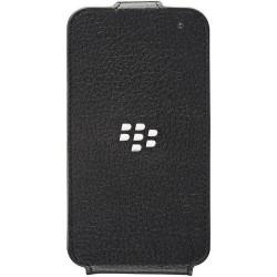Custodia con Flip Verticale per Blackberry 10 Q5, Nero
