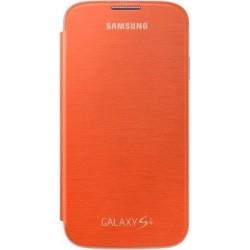 Flip Cover originale per Samsung Galaxy S4 (EF-FI950BOEGWW), Arancione