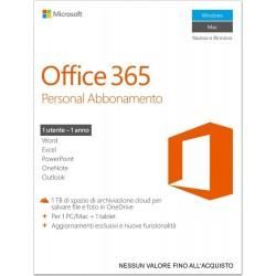Microsoft Office 365 Personal [Abbonamento 1 PC / 1 anno] (Versione 2016)
