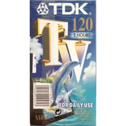 Videocassetta TDK 120 Minuti (2 ore) - Pacco di due