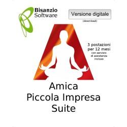 Amica - Piccola Impresa Suite (3 postazaioni - 12 mesi - ESD - Versione digitale)