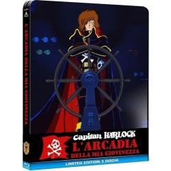 Capitan Harlock - L'Arcadia Della Mia Giovinezza - Steelbook - 1 Blu-Ray + 2 Dvd