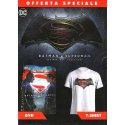 "Batman V Superman: Down of Justice + Tshirt ""L"" - DVD"