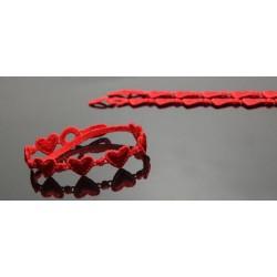 Bracciale Cruciani - cuore rosso ORIGINALE