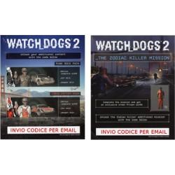 DLC Watch_Dogs 2 The zodiac Killer Mission + punk rock pack + Urban artist Pack - PS4 - Versione Digitale - ESD