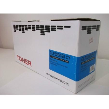 Toner compatibile Samsung CLP 320/325 Cyan/ciano (NUOVO)