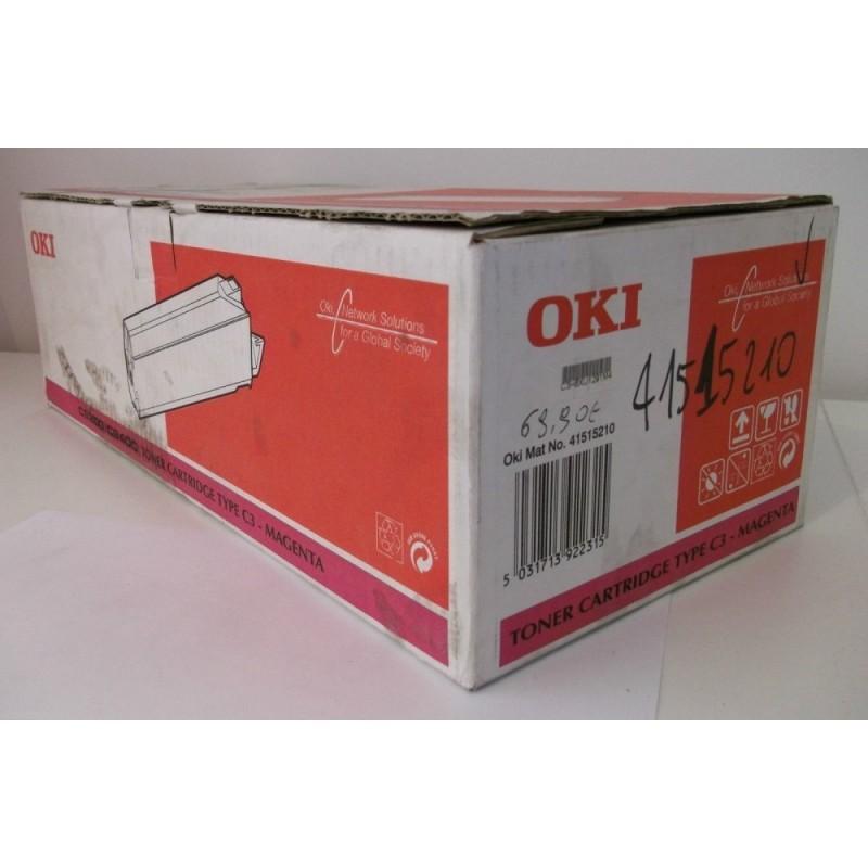 Toner ORIGINALE OKI C3 Magenta (41515210) per C9200/C9400 (NUOVO)