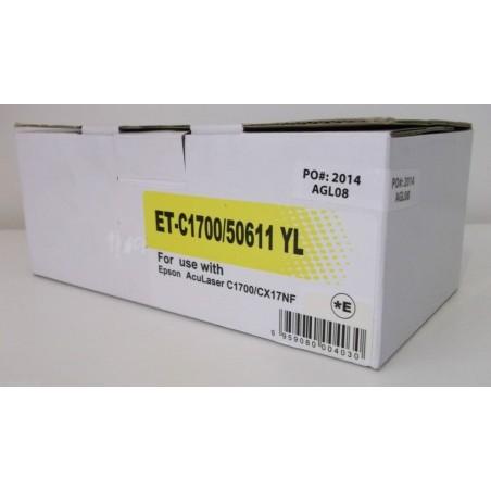 Toner compatibile Epson C1700 CX17NF Giallo (NUOVO)