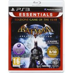 Batman arkham Asylum GOTY Essentials - Playstation 3