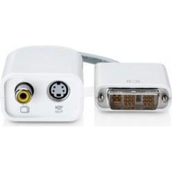 Apple Adattotore DVI To Video (S-Video + RCA) - Bianco
