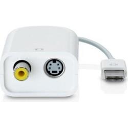 Apple Adattotore Mini VGA To Video (S-Video + RCA) - Bianco