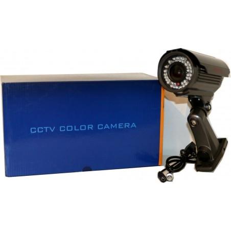 Telecamera Whaterproof IR 700TVL IP66 - Grigio