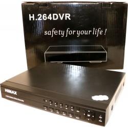 DVR Himax H.264 4 canali VGA + HDMI - Nero