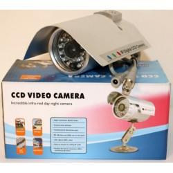 Telecamera CCD IR BNC - Argento