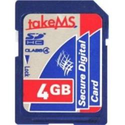 Memoria SD HC 4 GB - TakeMS