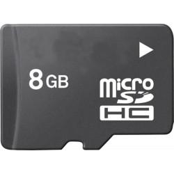 Micro SD HC 8 GB + adattatore Mini e SD - TakeMS