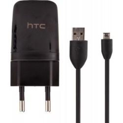 Alimentatore HTC microUSB 5V/1A - Nero
