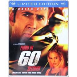 Fuori in 60 Secondi (Steelbook, 2 dischi) - DVD + Blu-Ray