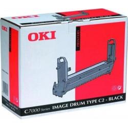 Tamburo di stampa originale Oki per X Seriec7000 Nero - 41304112, Type C2