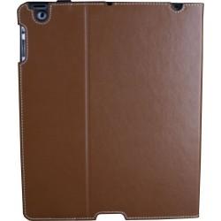 Custodia a libro per iPad 2 - Marrone