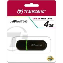PenDrive Transcend JetFlash 300 USB 2.0 - 4GB