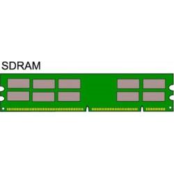 RAM SDRAM PC-133, 128 MB, DIMM (168 Pin) CL3 - Micron