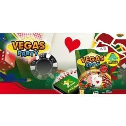 Vegas Party + Mazzo di carte Sisal Poker (di Modiano) - Nintendo Wii