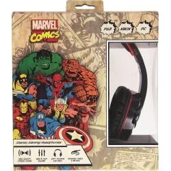 Cuffie a padiglione Marvel Comics - Nero
