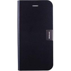 Custodia Anymode in Vera Pelle per iPhone 6, METAL BLACK