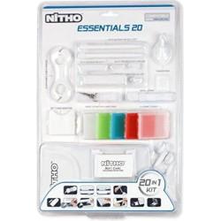 Pacchetto accessori Nitho da 20 pezzi per Nintendo DSI Essentials