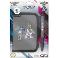 Custodia BD&A per Nintendo DS Lite Play-Thru Kit Pokemon (+ penna) - Grigio