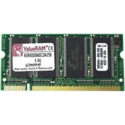 RAM DDR1 PC-3200 (400MHz), 256 MB, SO-DIMM (200 Pin) - Kingstone
