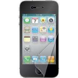Kit di Due Pellicole Muvit per iPhone 4/4S, Una Lucida e Una Opaca