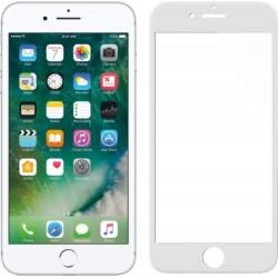 Vetro temperato 9H 3D FullFrame per Apple iPhone 7+ - Bianco