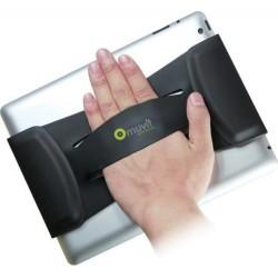 Muvit Hand Grip per Tablet, Nero