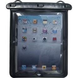 Custodia Protettiva Impermeabile Elbe Fi011 per iPad e Tablet - Nero/Trasparente