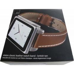 Hex Vison Leather: Cinturino per iPod Nano 6ª Generazione - Marrone
